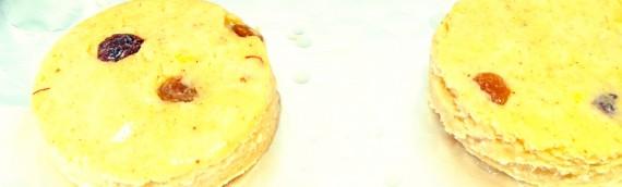 Dinner Biscuits with Saffron (short-bake)