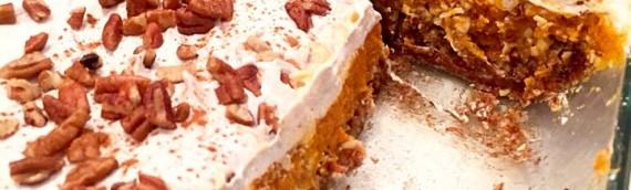 No-Bake Pumpkin Lasagna (raw vegan)