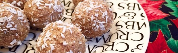"""Egg nogg"" protein balls (RAW vegan)"