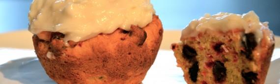 Chocolate Chip & Beet Muffins