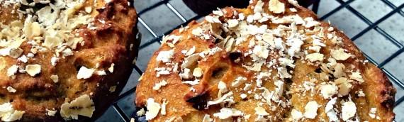 Kabocha squash / chocolate chip muffins