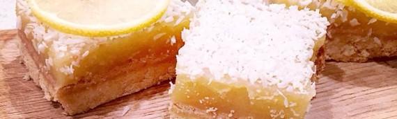 Grain-free Lemon squares